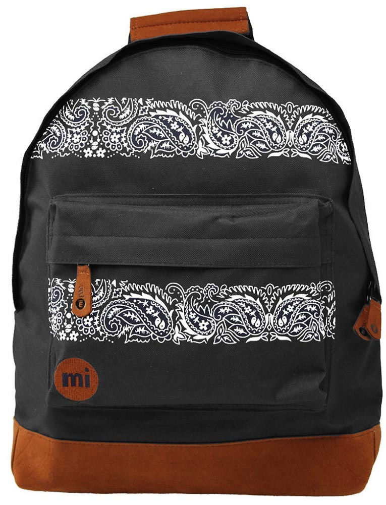 mi pac nordic polkadots paisley stars print backpack. Black Bedroom Furniture Sets. Home Design Ideas